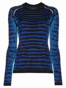 Proenza Schouler Re Edition Silk Knit Crewneck - Blue