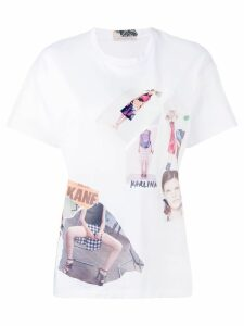 Christopher Kane scrapbook T-shirt - White