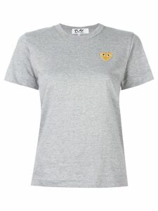 Comme Des Garçons Play heart logo T-shirt - Grey