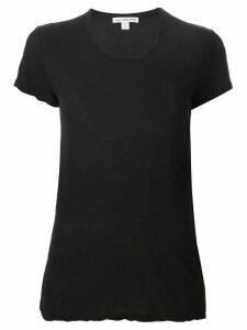 James Perse scoop neck T-shirt - Black