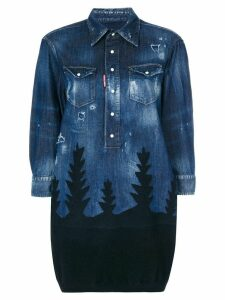 Dsquared2 denim forest top - Blue