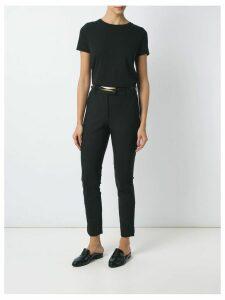 Egrey round neck t-shirt - Black