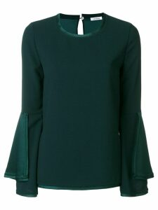 P.A.R.O.S.H. bell sleeved blouse - Green