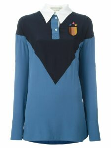 Stella McCartney 'Ornella' long sleeved jersey top - Blue