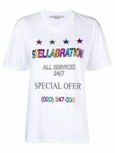 Stella McCartney Stellabration T-shirt - White