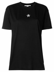 Stella McCartney embellished star T-shirt - Black