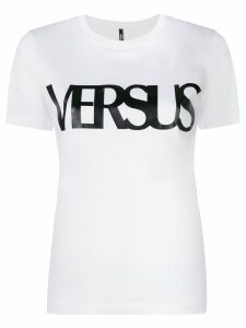 Versus logo-print T-shirt - White