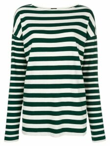 Joseph multi-stripe longsleeved T-shirt - Green