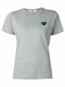 Comme Des Garçons Play 'Black Play' T-shirt - Grey