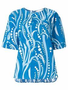 La Doublej Polipo boxy T-shirt - Blue