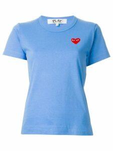 Comme Des Garçons Play heart logo T-shirt - Blue