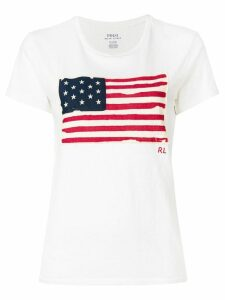 Polo Ralph Lauren American Flag T-shirt - NEUTRALS
