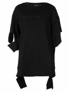 Haculla embroidered logo T-shirt - Black