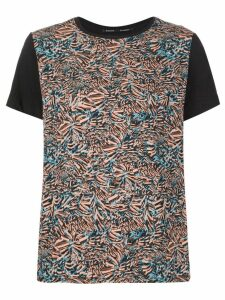 Proenza Schouler painterly print T-shirt - Multicolour
