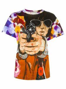 Christopher Kane illustration print T-shirt - Multicolour