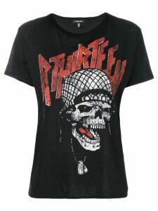R13 skull print T-shirt - Black