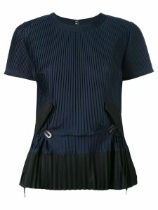 Sacai pleated top - Blue