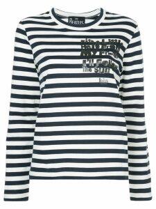 Comme Des Garçons Play striped jersey jumper - Blue