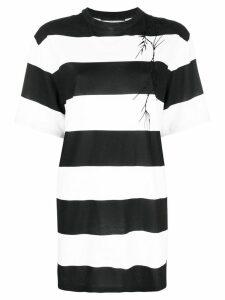 Haider Ackermann striped T-shirt - Black