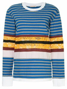 Marni striped longsleeved T-shirt - Multicolour