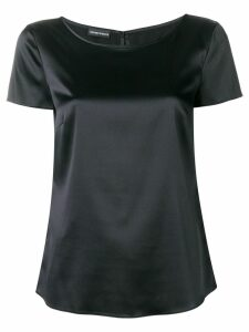 Emporio Armani Minimal short sleeve top - Black