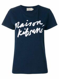 Maison Kitsuné logo T-shirt - Blue