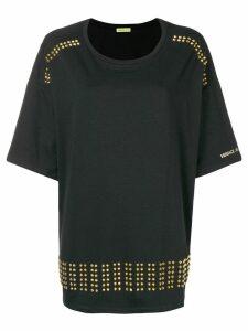 Versace Jeans studded oversized T-shirt - Black