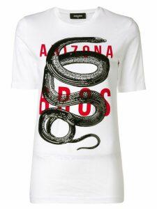 Dsquared2 Arizona print T-shirt - White
