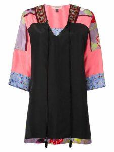Etro panelled tunic - Black