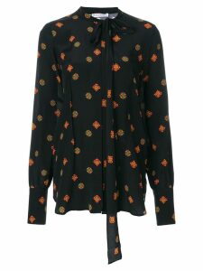 JW Anderson printed tunic blouse - Black