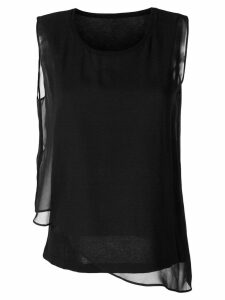 Sottomettimi sleeveless tank top - Black