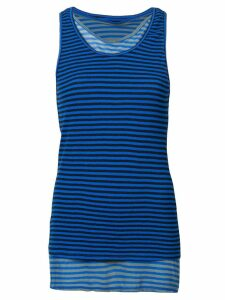 Proenza Schouler PSWL Layered Stripe Tank - Blue