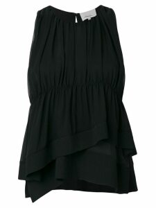 3.1 Phillip Lim ruffle-trim top - Black