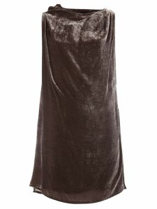 Rick Owens draped top - Brown