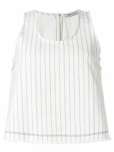 T By Alexander Wang flared tank top - White