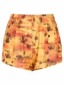 Lygia & Nanny printed Lee shorts - Yellow