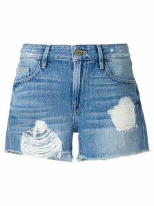 FRAME distressed shorts - Blue