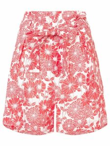 Lisa Marie Fernandez Paper bag shorts - Red