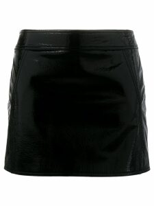 Saint Laurent Trapeze mini skirt - Black