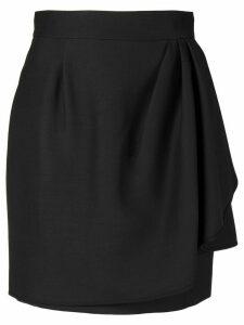 Valentino layer effect mini skirt - Black