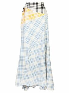 Rosie Assoulin Cut And Paste skirt - White
