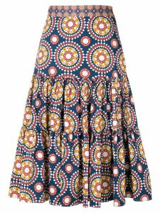 La Doublej printed full skirt - Blue