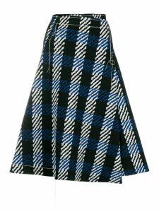 Marni abstract check print skirt - Black