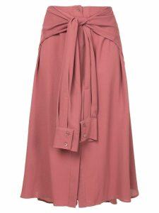 Sies Marjan shirt-style skirt - PINK