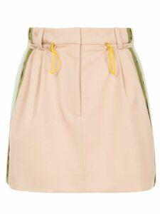 Peter Pilotto Cady mini skirt - NEUTRALS