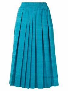 Agnona pleated skirt - Blue