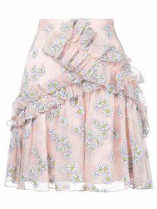 Macgraw Floret ruffled skirt - PINK