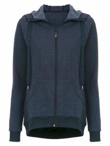 Track & Field Melange hoodie - Blue