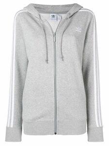 adidas classic 3-stripes hoodie - Grey