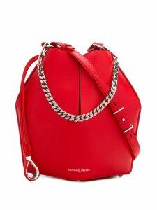 Alexander McQueen bucket bag - Red